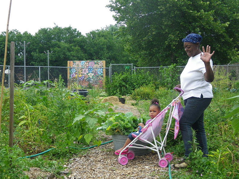 Urban Gardening Center for Environmental Transformation